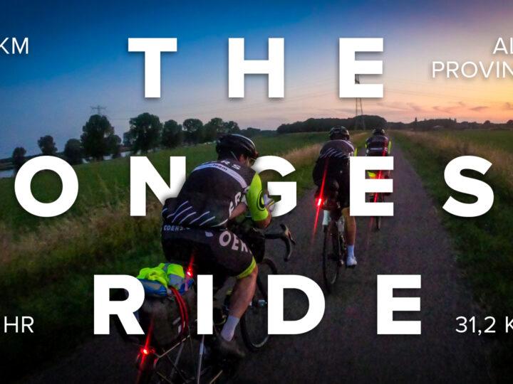 COERS Longest Day – 642 KM / 12 PROVINCIES BINNEN 24 UUR!